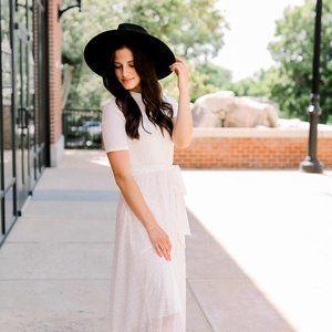 Phoebe Dress in White